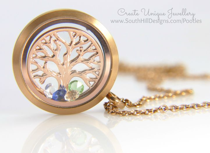 South Hill Designs - Tree of Life Gift Locket
