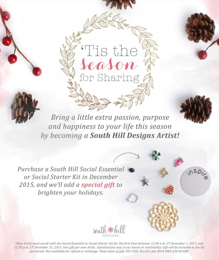 south hill designs with pootles joining offer for december
